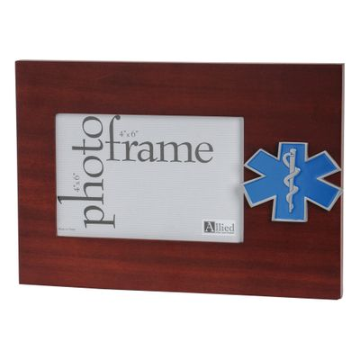 EMS Medallion 4-Inch by 6-Inch Desktop Picture Frame